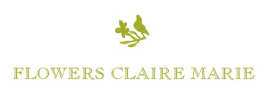 Flowers Claire Marie Logo Image