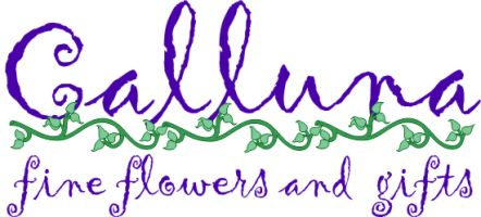 Calluna Fine Flowers and Gifts Logo Image