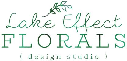 Lake Effect Florals Logo Image